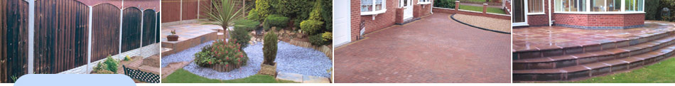 Derby fencing, slabbing, decking, turfing and garden maintenance